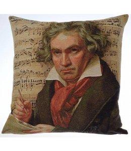 Kissen Vintage Kissenhülle Beethoven 45x45