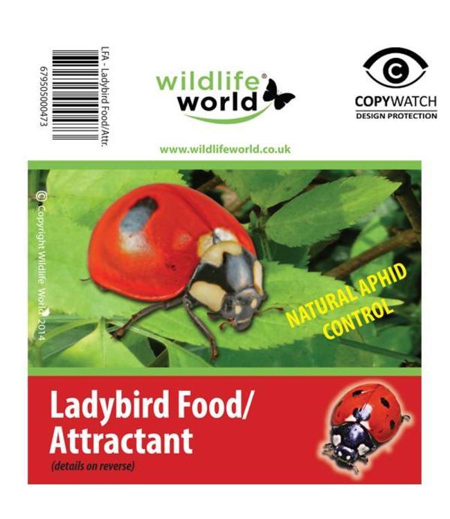 Wildlife World Marienkäfer Nahrung und Lockstoff