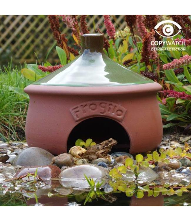 Wildlife World Froschhaus Keramik
