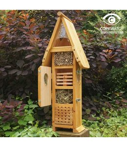 "Insektenhotel ""Insekten-Uni"" mit Lerneffekt"