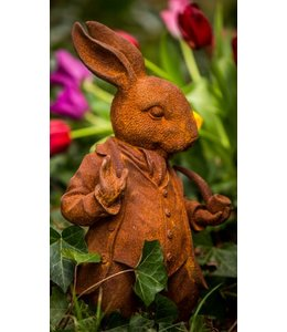 "Gartenfigur ""Mr. Rabbit"" aus England"
