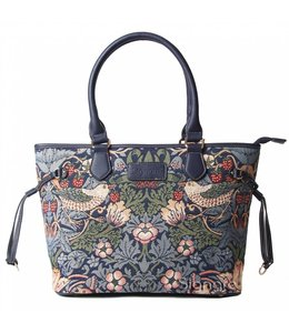 "Handtasche ""Strawberry Thief Blue"""