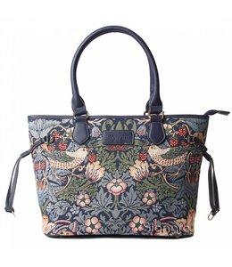 """Handtaschen Vintage Handtasche """"Strawberry Thief Blue"""""""