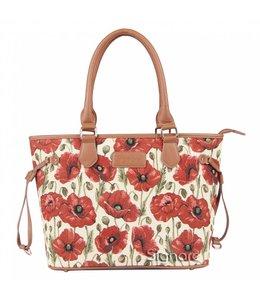 """Handtasche """"Mohnblüten"""""""