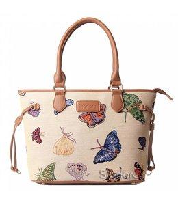 "Handtaschen Vintage Handtasche ""Schmetterlinge"""