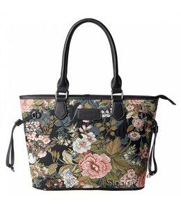 """Signare Handtasche Landhausstil """"Blumen"""""""