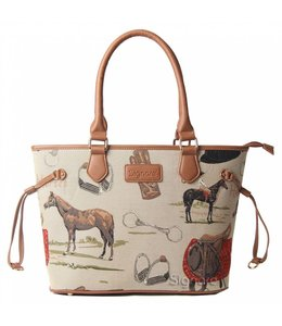 """Handtaschen Vintage Handtasche """"Horse"""""""