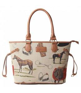"""Signare Handtasche Landhausstil """"Horse"""""""
