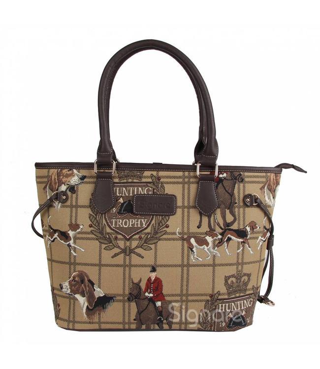 """Handtasche """"British Country"""""""
