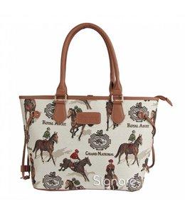 Signare Handtasche Pferde