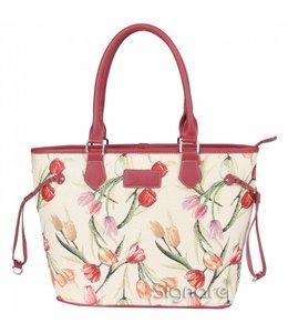 "Handtaschen Vintage Handtasche ""Tulpen"""