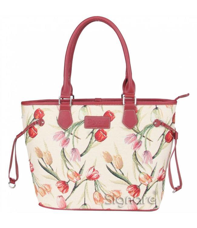 """Handtasche """"Tulpen"""""""
