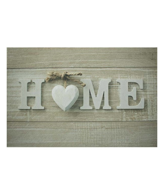 """Fußmatte """"Herz Home"""""""