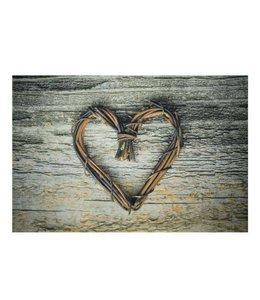 Fußmatten Vintage Türmatte Herz