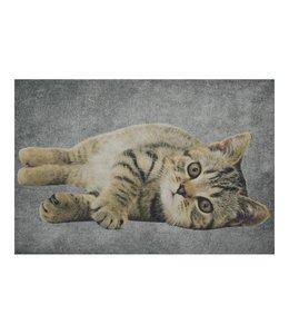 """Fußmatten Vintage Türmatte """"Katze liegend"""""""