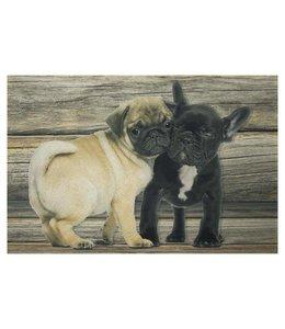 """Türmatte """"Mops & Französische Bulldoge"""""""