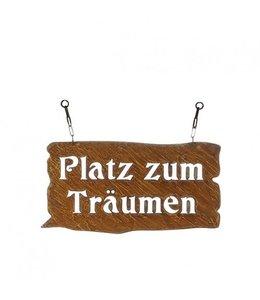 """Dekoschild Landhaus Dekoschild Rostig """"Platz zum Träumen"""""""