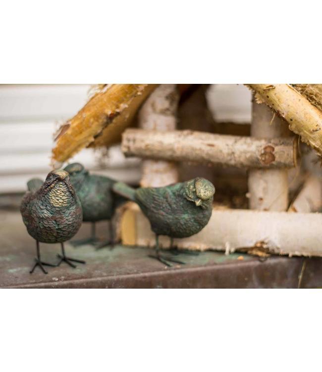 Deko-Vogel 3er Set Birdy