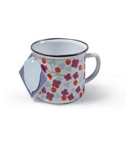 """Emaille Tassen Vintage 2er Set Emaille-Tasse """"Cherry Blossom"""" Sophie Conran"""