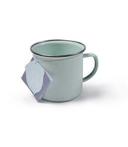 "2er Set Emaille-Tasse ""Allium Bloom"" Sophie Conran"