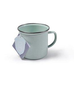 "Emaille Tassen Vintage 2er Set Emaille-Tasse ""Allium Bloom"" Sophie Conran"