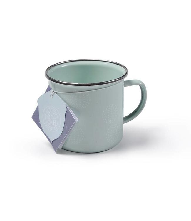 "2er Set Emaille-Tasse ""Allium Bloom"" Sophie Conran"