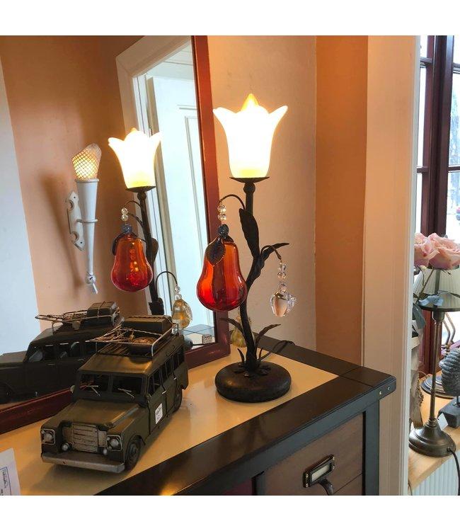 """Tischlampe """"Pera"""" Birne aus Muranoglas"""