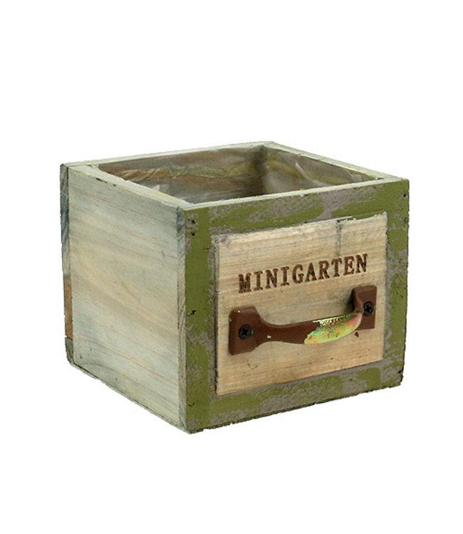 """Pflanz-Schublade Vintage """"Minigarten"""""""