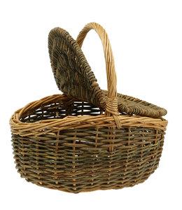 Picknickkorb Weide 40x30