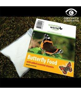 Wildlife World 2 Beutel mit Vitamin-Futter und Lockstoff für Schmetterlinge