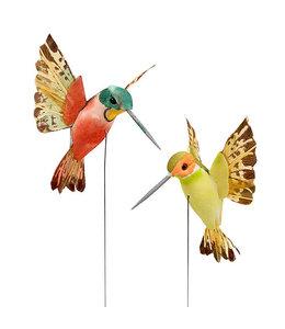 Deko Vintage Deko-Kolibri (2 Farben)