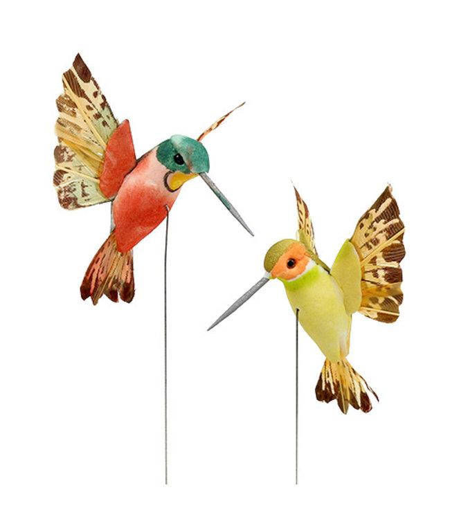Deko-Kolibri (2 Farben)