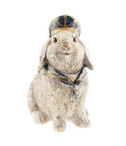 Deko-Kaninchen sitzend