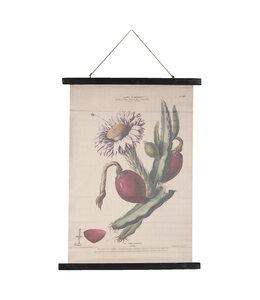 "Wandkarte Vintage ""Kaktus"" 55x75"