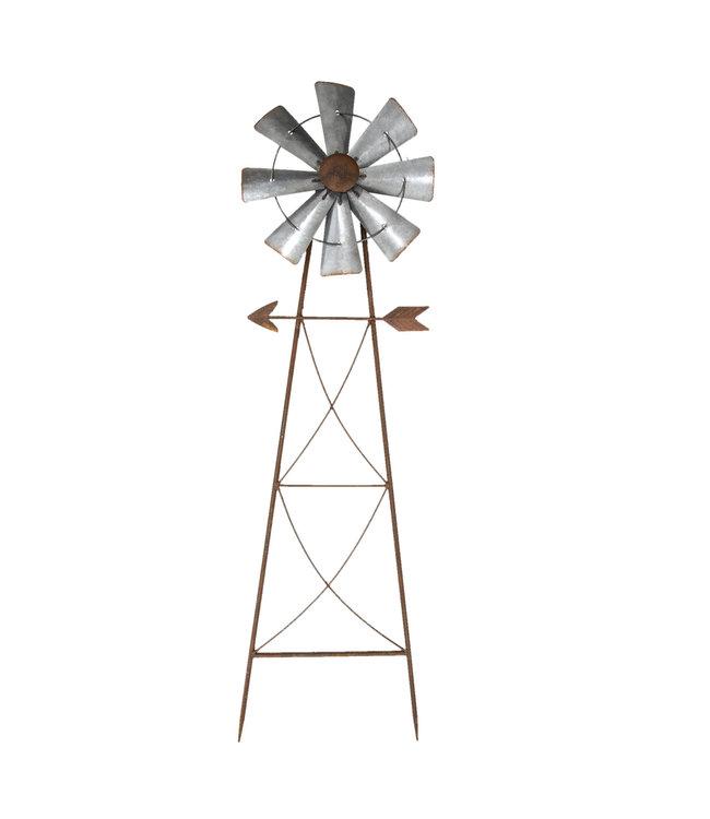 """Gartenstecker """"Windmühle"""" 105cm"""