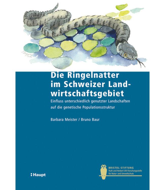 Die Ringelnatter im Schweizer Landwirtschaftsgebiet