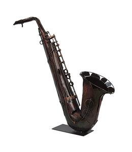 """Clayre & Eef Kunstobjekt """"Saxophon"""" 68x70"""