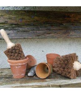 Blumentöpfe Vintage Bürste zur Reinigung von Blumentöpfen
