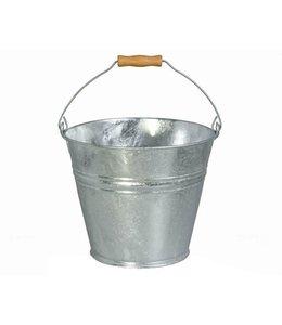 Eimer verzinkt 10 Liter mit Holzgriff