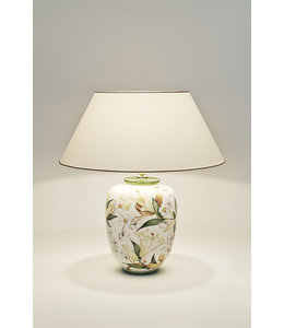 """Tischleuchte """"Lilien"""" Keramik"""