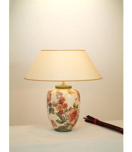 """Tischleuchte """"Blumengarten"""" Keramik"""