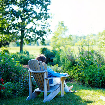 Gartenliegen