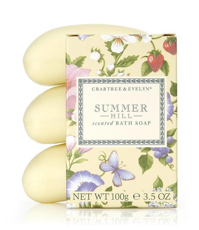 Summer Hill 3-fach gemahlene Seife 3 x 100 g