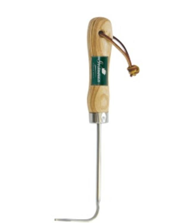 Handfugenkratzer Edelstahl mit Holzgriff aus England