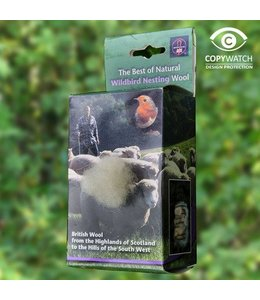 Wildlife World Britische Schafwolle für den Nestbau