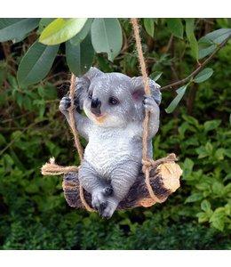 """Gartenfigur """"Koalabär auf Schaukel"""""""