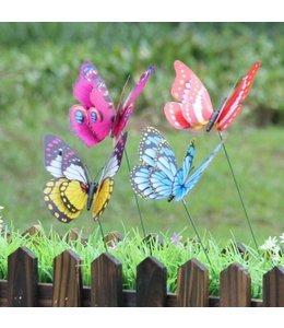 Deko-Schmetterlinge 4er-Set