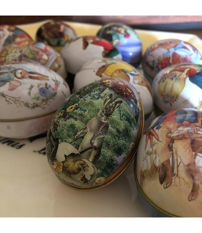 Ostereier mit Vintage Motiven, 12er Set