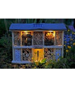 Solar Insektenhotel mit Beleuchtung