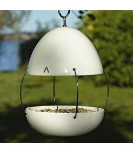 Vogelhaus Porzellan, weiß